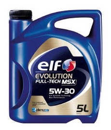 Automobilio variklio tepalas Elf Evolution FT MSX, 5W-30, 5 l
