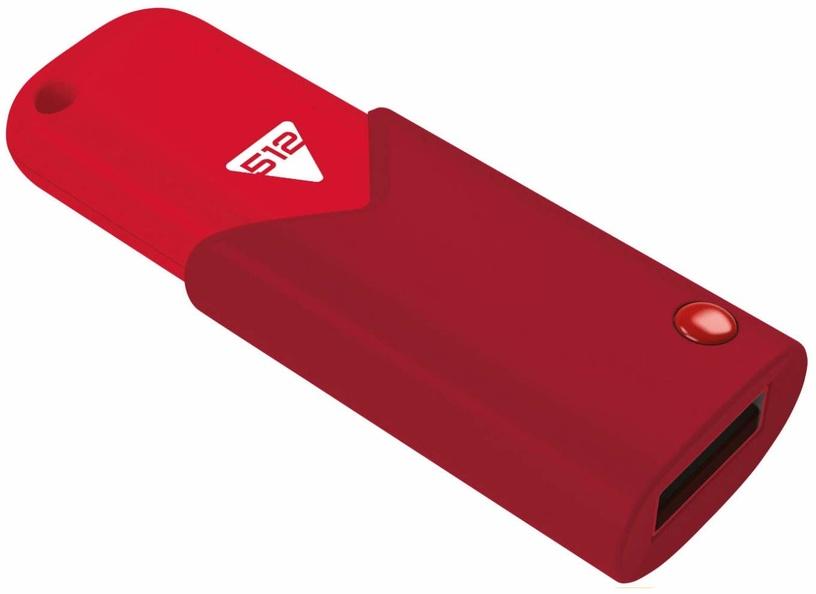 Emtec Click Fast 512GB USB 3.0 Red