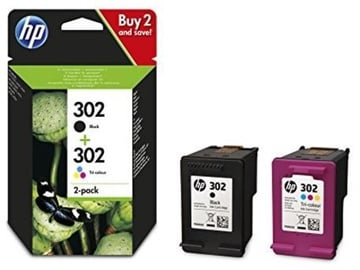 HP Cartridge Black / Colour