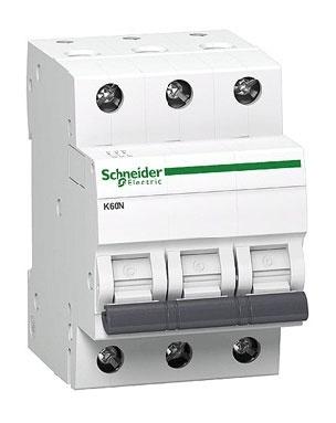 Automatinis jungiklis Schneider K60N, 3P, C, 32A, 6kA