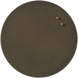 Naga Magnetic Glassboard Round Metal 35cm