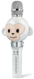 Микрофон Maxlife MX-100 Bluetooth Karaoke Microphone White