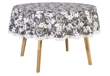 Home4you Wakiki Tablecloth D170 Brown Rose