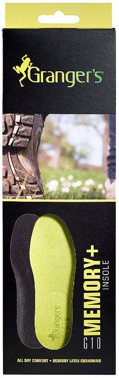 Grangers G10 Memory+ Insole 44