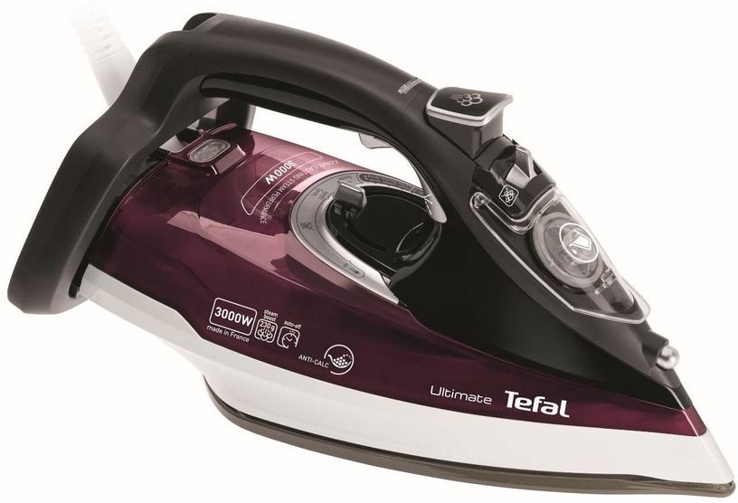Утюг Tefal Ultimate Anti-Calc FV9788, белый/черный/фиолетовый
