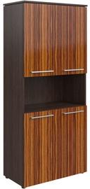 Skyland Morris MHC 85.4 Office Wardrobe 85.4x195.6x42.3cm Wenge Magic/Macassar