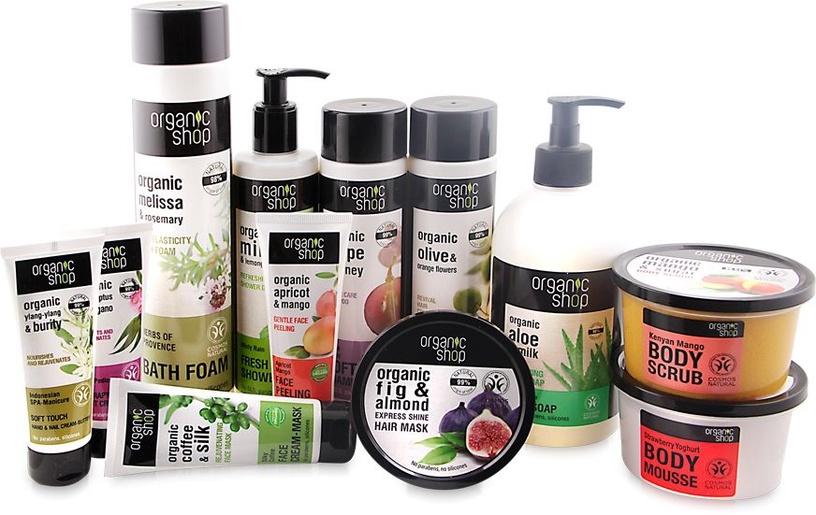 Rankų kremas Organic Shop Hand & Nail Cream-Gel Irish SPA-Manicure, 75 ml
