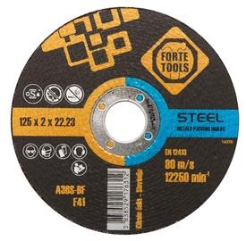 Lõikeketas Forte Tools 125x2,0x22,23 mm, metall