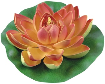 Greenmill Water Lily 19cm Orange