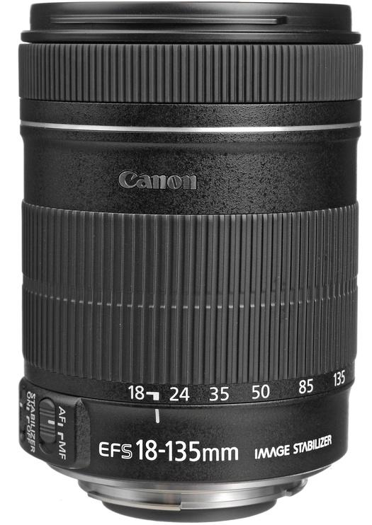 Objektyvas Canon EF-S 18-135/3.5-5.6 IS