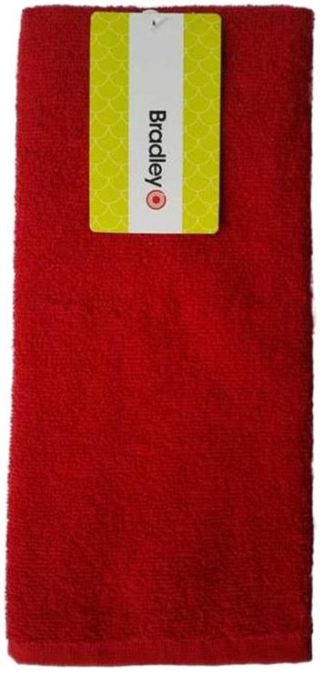 Bradley Kitchen Towel 40x60cm Red