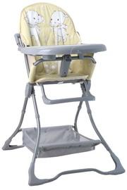 Bertoni Lorelli High Chair BonBon Yellow Happy Hippo 2019