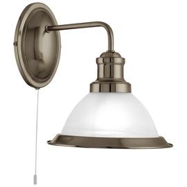 Sieninis šviestuvas Searchlight Bistro 1481AB, 1x7W, E27