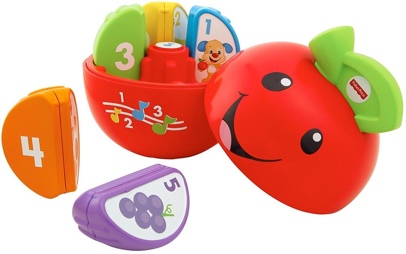 Žaislas obuolys Fisher Price DYY40, 6 mėn.