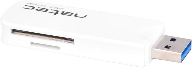 Картридер Natec SCARAB Mini Card Reader USB 3.0 White