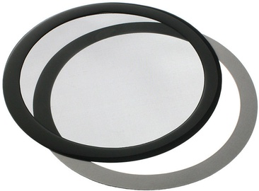 DEMCiflex Dust Filter 200mm Round Black DF0020