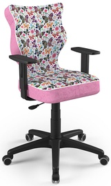 Детский стул Entelo Duo ST31, черный/розовый, 375 мм x 1000 мм