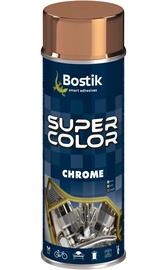 Aerozoliniai dažai Bostik Super Color, vario ir chromo spalva, 400 ml