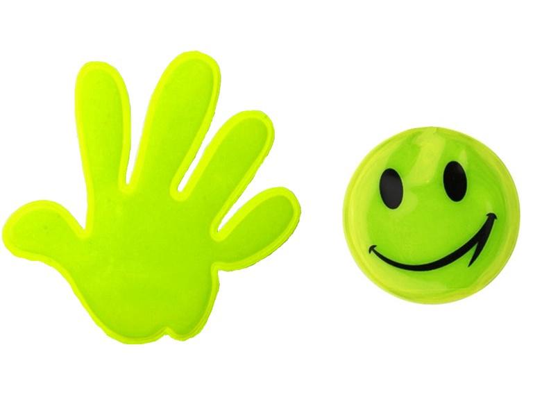 """Kleebitavad helkurid """"Happy&Smile"""" S-S-077"""