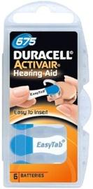 Duracell Activeair DA675 Hearing Aid Battery 6x