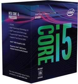 Intel® Core™ i5-8400 2.80 GHz 9M LGA1151 BX80684I58400