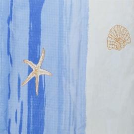 Vonios užuolaida Gedy Stelle Marine, 180 x 200 cm