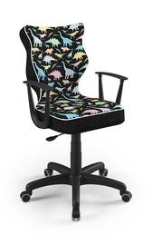 Детский стул Entelo Norm ST30, черный, 400x370x1010 мм