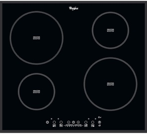 Whirlpool ACM804/BA Built-In Hob Black