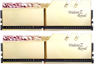 G.SKILL Trident Z Royal Gold 16GB 3200MHz CL16 DDR4 KIT OF 2 Series F4-3200C16D-16GTRG