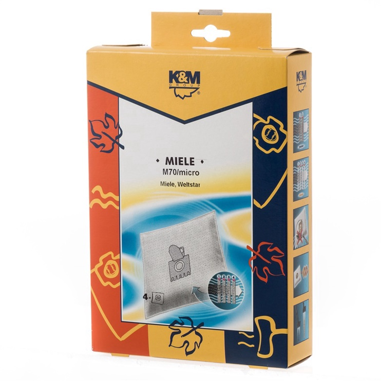 Dulkių siurblio maišeliai K&M M70 Mikro, 4 vnt