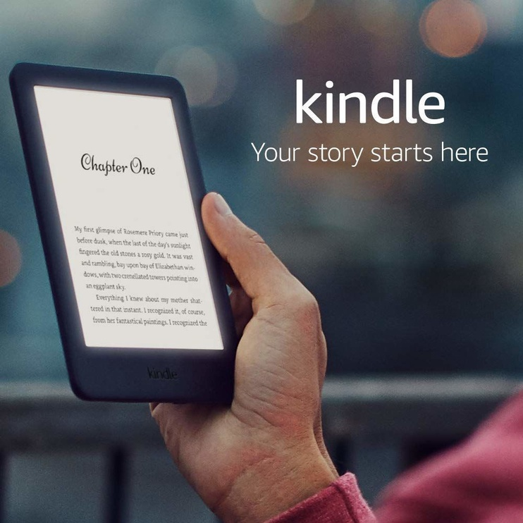 Amazon Kindle 10 Black with Special Offers