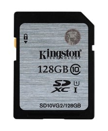 Atminties kortelė Kingston SDXC CL10, 128GB