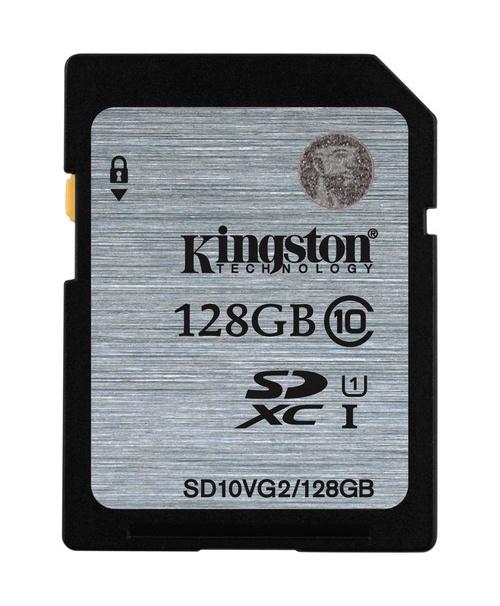 Atminties kortelė Kingston SDXC CL10, 128GB