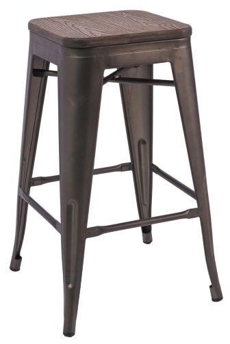 Барный стул Signal Meble Hoker Nut/Graphite, 1 шт.