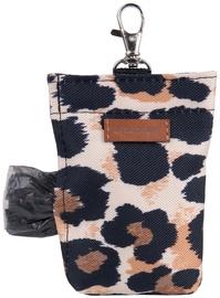 Amiplay Safari Waste Bags Dispenser Leopard 6x2x11cm