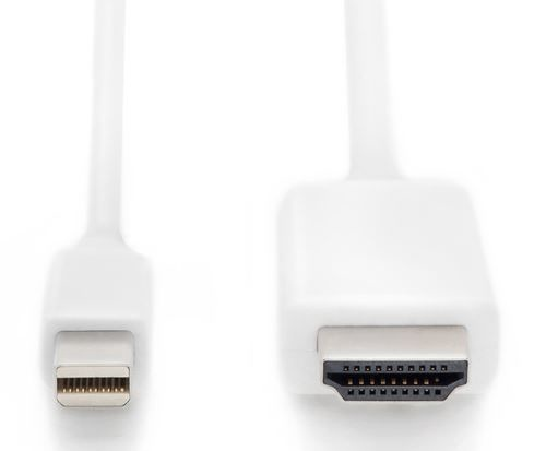 Assmann Cable Mini Displayport / HDMI White 1m