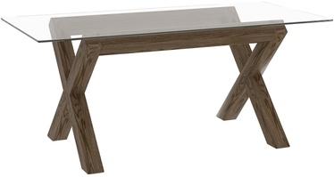Home4you Turin Table 180x90cm Smoke Oak