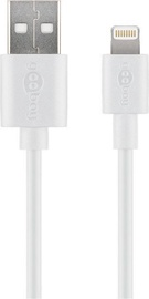 Goobay Cable USB A To Lightning 0.5m White