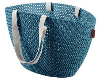 Curver Shopping Bag Knit Emily Dark Blue