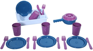 Plasto Draining Rack With Dishes 3864P