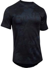 Under Armour T-Shirt Core 1303705-005 Black/Blue XS