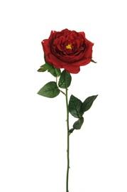 Artificial Flower Rose Dark Red 53 cm 80-354921