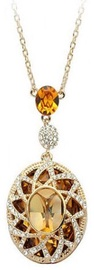 Vincento Pendant with Swarovski Elements CP-1034