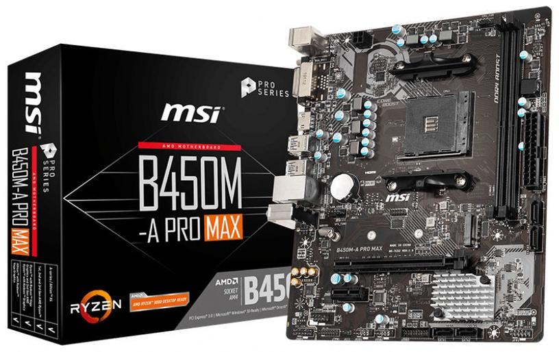 MSI AMD B450M-A Pro Max Motherboard