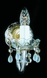 Sienas lampa Artglass Karolina I 1x40W E14 (10)
