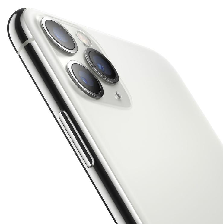 Mobilusis telefonas Apple iPhone 11 Pro Silver, 512 GB (pažeista pakuotė)