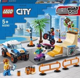Конструктор LEGO City Скейт-парк 60290, 195 шт.
