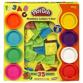 Hasbro Play Doh Numbers & Letters 8 Tub Fun Pack