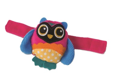 Oops Wrist Rattle Toy Owl Colorful 13005.12