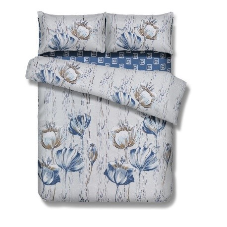 Gultas veļas komplekts Domoletti WS10 Flower, 160x200 cm/50x70 cm